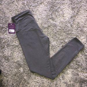 NWT Gray Yummie leggings